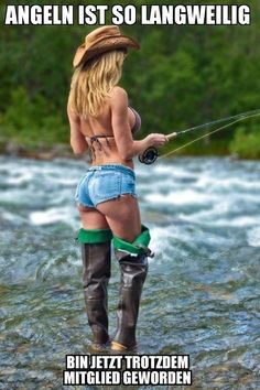 40 pics of hot southern girls. Country girls are always hotter. Girls in boots. Cowgirls in boots and daisy dukes. A country girls knows better. Sexy Cowgirl, Cowgirl Hats, Vaquera Sexy, Hot Girls, Mini Short, Gone Fishing, Fishing Canoe, Bass Fishing, Canoe Boat