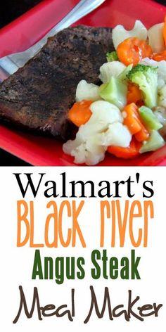 A Fine Feed: Walmart's Black River Angus Steak Meal Maker Idea