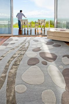 River Stones Rug - part of the Designer Boys Collection