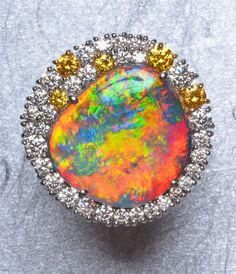 opal rings | DREAMTIME - Opal Rings: Black Opal, Boulder Opal