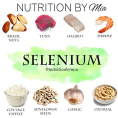 "When I think of selenium I immediately think of Brazil nuts aka ""nature's selenium supplement"". This trace mineral plays an essential role in protecting our cells from free radical damage and regulating thyroid function-- thus, metabolism. I've included a more in-depth overview today on Nutrition By Mia."