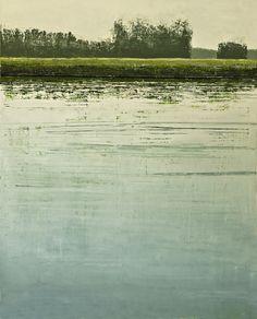 Artiste: Benoît TRIMBORN  Titre: Canal VII  Technique: Huile sur toile  Dimensions en mm: 1400 x 1000  Date: 2010  Référence: 1159/P - DPG/02A