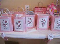 Bolsas de cumpleaños de Hello Kitty
