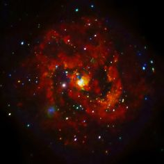 This new Chandra image of M83, a spiral galaxy about 15 million light years from Earth