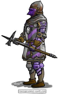 medium/Heavy men at arms in transitional armour Medieval Knight, Medieval Art, Medieval Fantasy, Fantasy Armor, Dark Fantasy, Fantasy Books, Fantasy Characters, Armor Concept, Concept Art