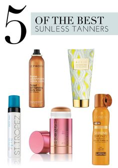 5 ways to get that faux sun glow
