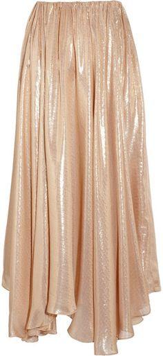 VIONNET Metallic Circle Skirt - Lyst
