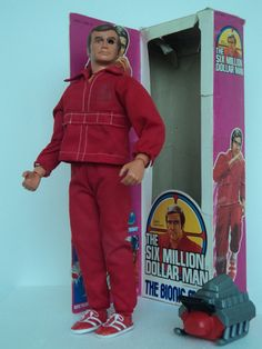 Six Million Dollar Man doll - My brother had one of these and I'd use him as a date for my Barbie because I didn't have a Ken doll!