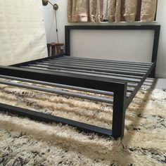 Gray Steel Cali King Bed from Room & Board