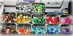 Rocky Mountain Paper Crafts-Copic Storage w/ gutter downspout