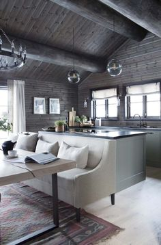 42 Inspiring Home Interior Cabin Style Design Ideas. Rustic charm is something that has gotten a lot of press lately. Some people like. Cabin Homes, Modern Cabin Interior, Home, Rustic House, House Design, Cabin Style, Interior, Cabin Chic, House Interior