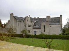 hill house (1902)-helensburgh scotland - Mackintosh