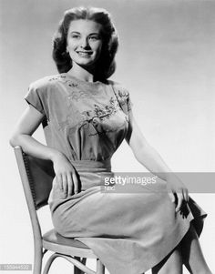 Actress Cloris Leachman in 1946 --