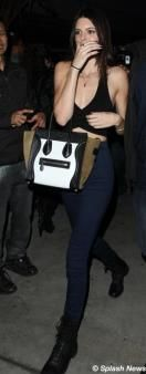 Kendall and Kylie Jenner head to a Rihanna concert in Los Angeles