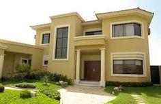 Tonos de Amarillo Fachadas de casas modernas Exteriores de casas Casas modernas