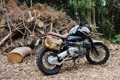 BMW GS Urban Scrambler by Officine Sbrannetti #motorcycles #scrambler #motos | caferacerpasion.com