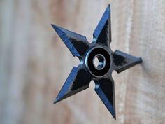 Make a shuriken throwing star which doubles as a fidget spinner (for all of those tedious ninja stakeouts).