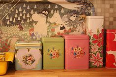 tins & a cute tray