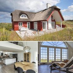Great holiday home on a dune plot. 2 dogs are allowed. World Most Beautiful Place, Beautiful Places, Visit Denmark, Spanish House, Metal Homes, Vacation Villas, Places Around The World, Holiday Travel, Vacation Apartments