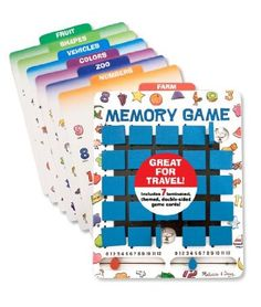 Melissa & Doug Travel Memory Game