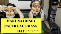 MAKUNA HONEY OWL PAPER FACEMASK by SPATHERAPY (& Vodka Beverage Search)