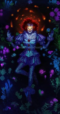 Clown Horror, Arte Horror, Horror Art, Horror Movie Characters, Horror Movies, Horror Wallpapers Hd, Hanged Man Tarot, Bill Skarsgard Pennywise, It The Clown Movie