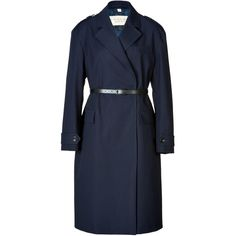 BURBERRY BRIT Stretch Cotton Manningford Coat
