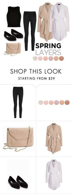 """""""White or Nude"""" by jenny-persson ❤ liked on Polyvore featuring Yves Saint Laurent, Deborah Lippmann, Filippa K, ONLY, NLY Trend and River Island"""