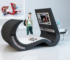 Old Post about geek gamer furniture~