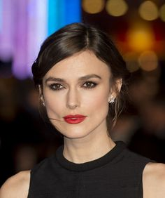 Keira Knightley in perfect makeup AGAIN