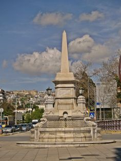The Fountain was built in 1889 after the destruction of the Eastern Wall. Macedonia Greece, Old Greek, Alexander The Great, Thessaloniki, Burj Khalifa, One And Only, Destruction, Daydream, The Locals
