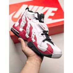 wholesale dealer 4ca62 d16d4 Nike Air Dt Max 96 Vintage Boots The Red And White And Black And White  Colorway Solution Used In The Upper