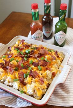 Could You Eat Pizza With Sort Two Diabetic Issues? Loaded Potato And Chicken Casserole. Make Dinner Time Exciting And Totally Delicious With This Loaded Potato And Chicken Casserole The Family And Holiday Guests Are Sure To Enjoy Tabas Chicken Casserole, Casserole Dishes, Casserole Recipes, Potato Casserole, Easy Dinner Recipes, Easy Meals, Breakfast Recipes, Dessert Recipes, Desserts