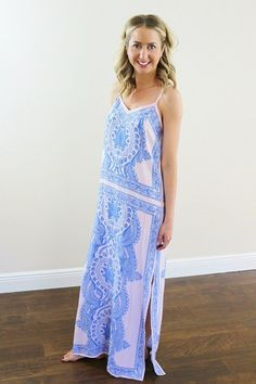 Keen Maxi Dress. Unhinged Boutique www.unhingedboutique.com . Online Clothing Boutique. Affordable Clothing. Jupiter, Florida.