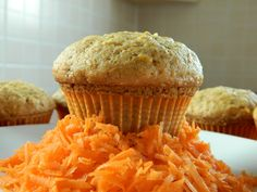 muffins with carrots and pineapple