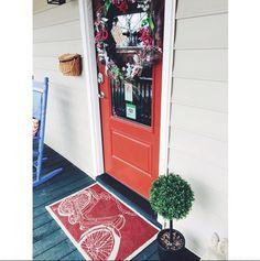 The @swamprabbitinn porch never fails to make us smile. #springishere #bikeinbikeout #staylocal #volumeone #greenvillesc #yeahTHATgreenville #tsggreenville #thescoutguidegreenville