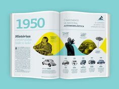 One of the most important oil companies in the world, Petrobras is the pride of Brazilian government.On his 60th birthday, Petrobras decided to publish a magazine showing it's history over the country's development.