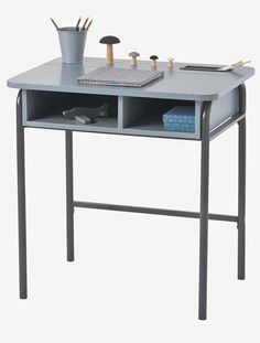 Desk - grey, Furniture & Bedding | Vertbaudet