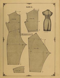 1890 combination drawers free pattern