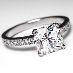 Tiffany Engagement Rings | Tiffany Novo Engagement Ring by EraGem more simple and elegant