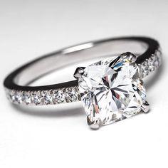 Tiffany Engagement Rings | Tiffany Novo Engagement Ring by EraGem more simple and elegant