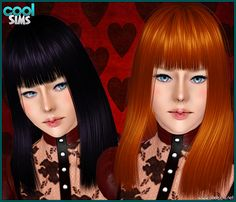 Emma's Simposium: Free Hair Pack #115 By Cool Sims - Donated/Gifted To Us!!!