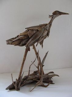 Driftwood Art Ideas | ... 05 Wooden Art Driftwood Sculptures Creativity Art & Craft Amazing art