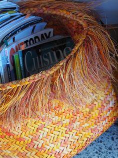 Flax weaving by Janie Ranserson Flax Weaving, Hair Styles, Beauty, Art, Hair Plait Styles, Art Background, Linen Fabric, Hair Makeup, Kunst