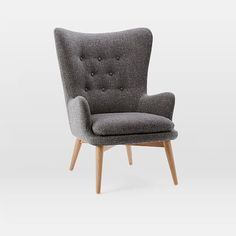 Niels Upholstered Wing Chair | west elm