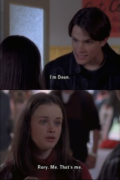 I didn't realize how awkward Rory was until I started watching the series over again