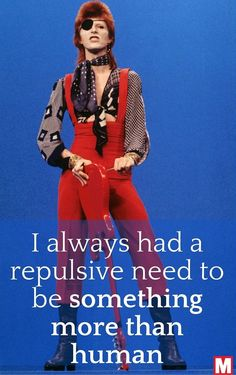 A life in words - 29 famous quotes from David Bowie