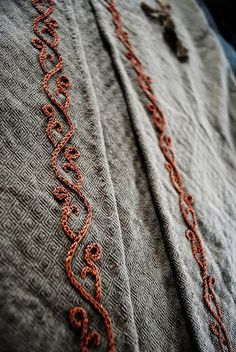 i love historical clothing: Viking patterns & embroidery
