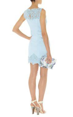 #KarenMillen #Cotton #Lace Panel #Dress (Back) - #ItsANiceDayForAWhiteWedding - #bridal #wedding #inspiration