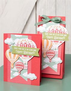 Stampin' Up! Lift Me Up and Carried Away Designer Series paper